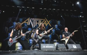 """Anthrax reveal """"something big"""" is coming to celebrate their 40th anniversary"""