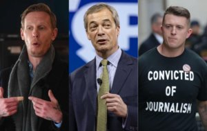 Hear 'Three Lions' parody mocking Laurence Fox, Nigel Farage and Tommy Robinson's 'take the knee' football stance