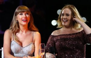 """Taylor Swift and Adele """"not"""" collaborating on new track after sparking speculation online"""