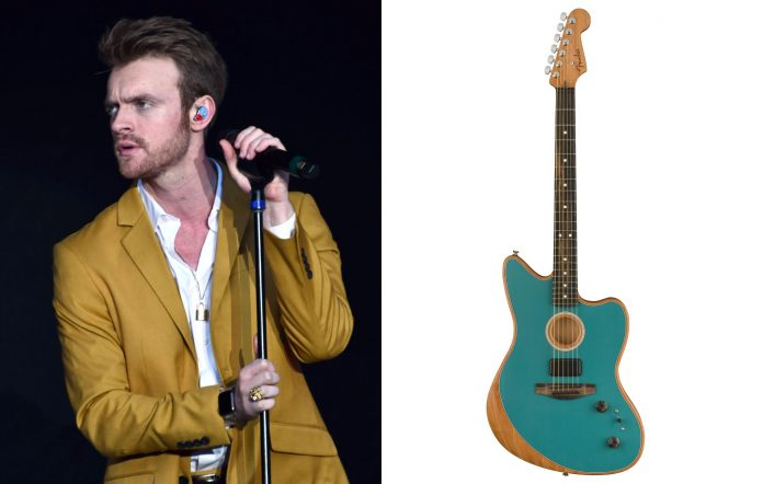 Fans invited to leave voicemails for Finneas to get advice about Fender acoustasonic guitar