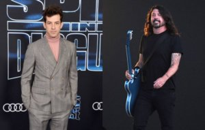 Mark Ronson recalls kicking Dave Grohl out of the studio