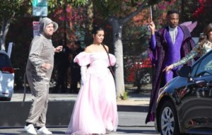 Fans react as James Corden and Camila Cabello block LA traffic with flash mob