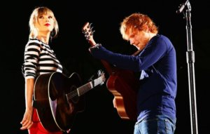 Ed Sheeran says he once took Taylor Swift to his local pub and nobody noticed