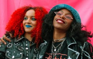 """Nova Twins say rock music is """"having its moment again"""": """"It deserves to be there"""""""