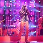 Young Thug joined by Travis Barker for 'SNL' performance of 'Tick Tock'